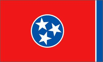 TENNESSEE OFFICIAL STATE FLAG