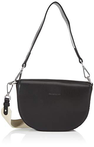 Marc O'Polo Damen Blogger Crossbody Bag S, Black, OS