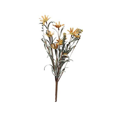 PRETYZOOM Flores Secas Artificiales Tallos Paquete Flores Decorativas Secas Ramo Centros de Mesa Accesorios de Fotografía para Bodas Arreglos Florales Decoraciones para El Hogar Estilo 3