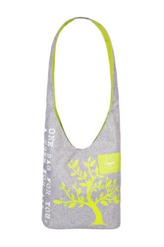 LÄSSIG Green Label Shopper Einkaufsshopper Einkaufstasche Umhängetasche zum Einkaufen/Sport/Freizeit, mélange tender