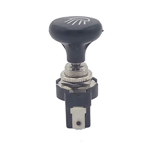 MagiDeal Interruptor de Luz de Tirador de 12 V, Faros de Voltios para Carro de Golf de Coche Yamaha