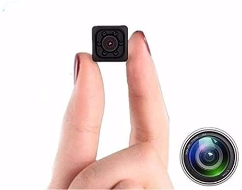 Wireless Camera Mini Hidden Spy Camera Portable Small Nanny Cam Voice Function with Audio and Video Recording HD 1080P , Night Vision and Motion Detection, Suitable for Home Outdoor Office.