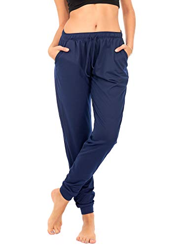 Plus Size DEAR SPARKLE Jogger with Pockets for Women Drawstring Lightweight Sweats Yoga Lounge Pants P7 F