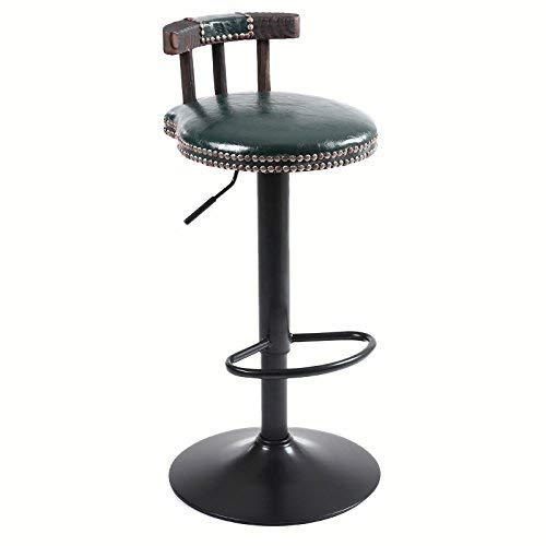 XHX Chaises et tabourets, Chaise de bar en bois massif, Chaise de bar en bois massif, Chaise de restaurant, Comptoir de bar, Chaise de bar, Caissière, Ameublement créatif, Levage, Chaise haute rotati