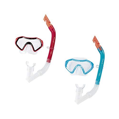 Bestway Hydro-Swim Sparkling Sea Kinder-Tauchset, Mehrfarbig, ab 7 Jahren