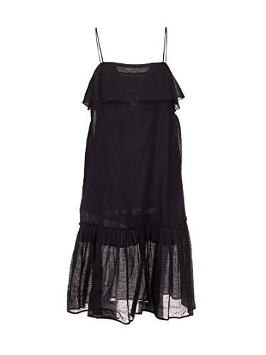 Miu Miu Luxury Fashion Damen MF37511V2LF0002 Schwarz Baumwolle Kleid   Frühling Sommer 20