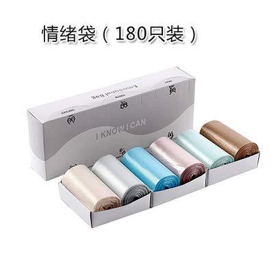 Mdsfe Bolsa de Basura autoadhesiva desechable para Auto, Bolsa de Basura, Bolsa de Almacenamiento de Basura degradable para la Cocina de la Oficina del automóvil - Azul Cielo, China