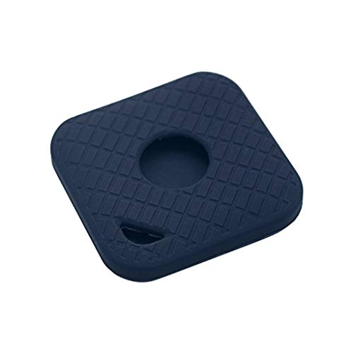 Shan-S Cover Case for Tile Sport Smart Tracker,Soft Silicone Case Anti-Scratch Storage Container Key Finder Anti-Lost Protective Cover with Carabiner for Tile Sport