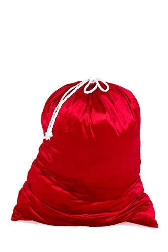 Marco Porta Saco de Papá Noel, color rojo