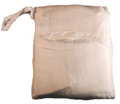 Terrapin Trading Près de 100% Soie Simple Sleeping Bag Liner du Vietnam (1218) (Blanc)