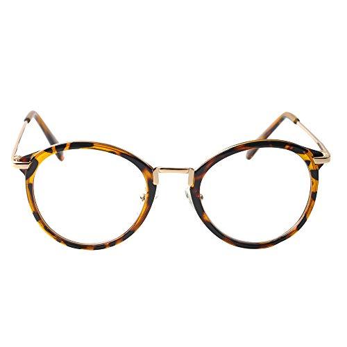 メガネ 眼鏡 レディース 人気 フレーム メンズ 伊達メガネ レトロ ボストン ウェリントン型 ラウンド 丸 べっ甲風 べっこう風 クリアー素材 大人カジュアル シンプル uvカット [cream dot クリームドット]B:ブラウン×ワンサイズ