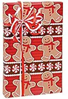 Holiday Sweets Gingerbread Man Wrapping Paper - 15 Foot Roll
