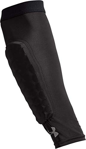 Gameday Armour Pro Padded Forearm Sleeves-BLK,XS