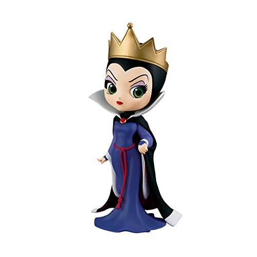 Q Posket Disney Characters Snow White and The Seven Dwarfs Blancanieves y los Siete enanitos Figure The Evil Queen Figure Mala Reina QPosket Princesase