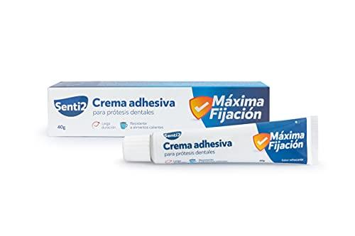 Senti2 Crema adhesiva para prótesis dentales 40g