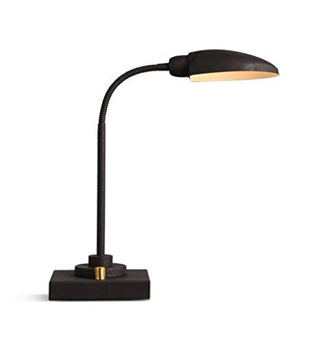 Retro-tafellamp Loft, American Retro Do Old, bureau van ijzer met werklamp, natuurlijk licht, bureaulamp met dimmer, 380 & timen; 140 mm creatief.