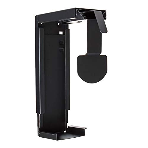 Soporte de Suelo para PC Montaje de Soporte de CPU Ajustable bajo Escritorio y Pared PC Mount Host Chassis Colgando Soporte Colgando Soporte Fijo Tiene hasta 25 kg Soporte de CPU móvil