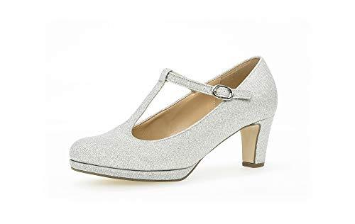 Gabor Fashion 61.261.61 - Scarponi con gancio, colore: Argento, Argento (Argento 61.), 42.5 EU