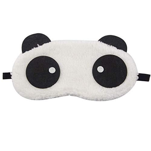 Flyever Panda Schlafmaske Augenmaske Reisen Schlaf-Beihilfen Komfortablen Schlaf Brille mit Elastisches Gummiband für Kinder