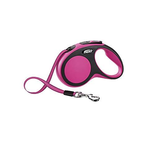 flexi New Comfort S Gurt 5 m pink für Hunde bis 15 kg