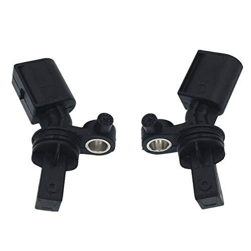 HZTWFC Capteur de vitesse de roue de capteur ABS arrière 2 pièces OEM # 2H0927807A 2H0927808A pour - VW Amarok Pickup
