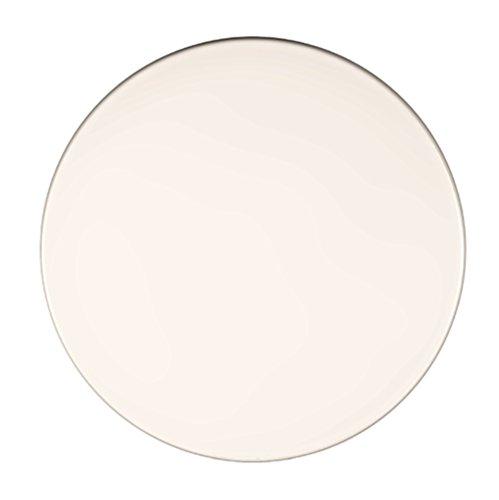 Werzalit Tischplatte, Dekor weiß, rund 80 cm
