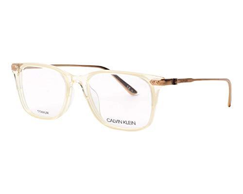 Eyeglasses CK 18704 742 Crystal Pale Yellow/Cream