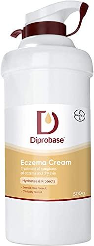DIPROBASE EMOLLIENT CREAM WITH PUMP DISPENSER -500G by Diprobase
