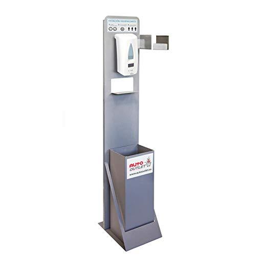 Hygienische Hygiene-Papierspender Premium automatisch, Abfalleimer und Halter