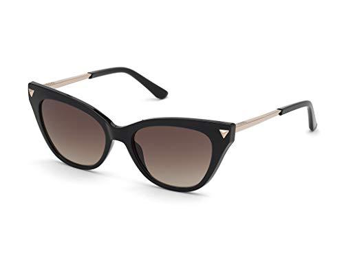 Guess gafas de sol GU7685 01F gafas de sol de las Mujeres de color Negro de la lente de brown de tamaño de 54 mm