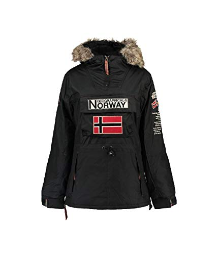 Geographical Norway - Parka Femme Boomera Noir-Taille - 3