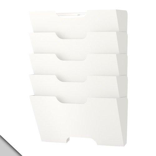 Ikea KVISSLE Wand Zeitschriftensammler, Weiß