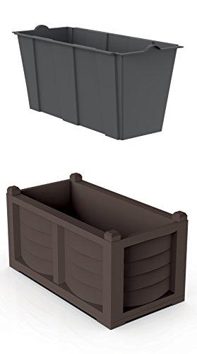Bama 31967 Kit Arredo, Cacao, 80x42.5x42 cm