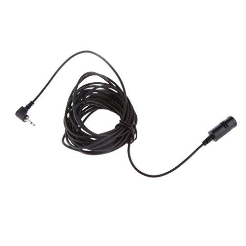 NC Micrófono Externo de 2,5 Mm DNX-9960 para Transmisión de Música Estéreo de Radio de Coche
