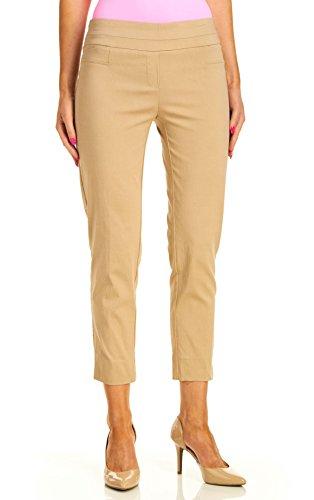 Zac & Rachel Women's Millenium Ankle Pants (8, Chino)