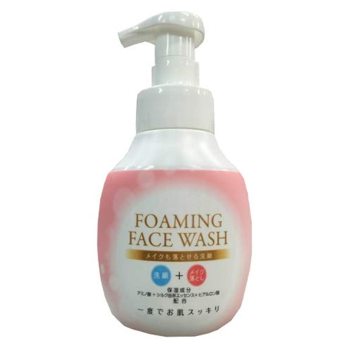 照らす免疫参照ロケット石鹸 メイクも落とせる洗顔 本体 250ML