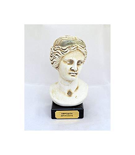 Estia Creations Venus, busto de Afrodita Diosa griega del amor y la belleza
