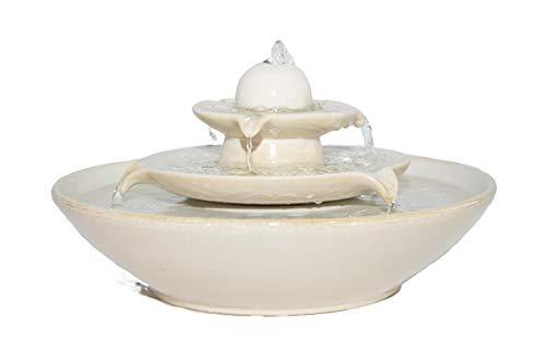 Keramikbrunnen Pisa Creme von seliger®