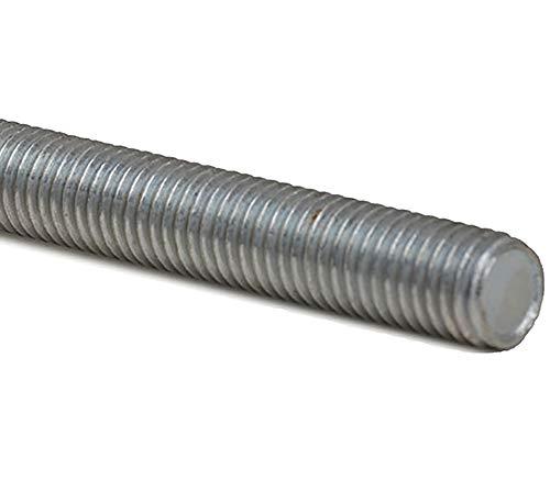 5 Stück Gewindestange M10, Länge 1.000mm / 1m Stahl verzinkt
