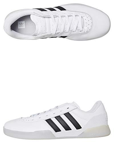 Adidas City Cup, Scarpe da Skateboard Uomo, Bianco (Blanco 000), 40 EU