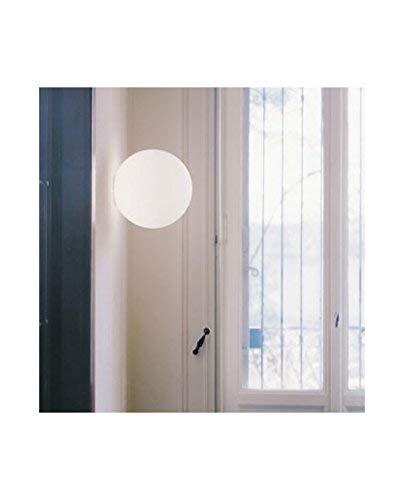 Artemide Dioscuri Lampada Parete/Soffitto, Diametro 14cm, 48W, Alluminio, Bianco