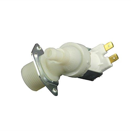 Magnetventil 1-fach 90° 11,5mmØ Waschmaschine Spülmaschine