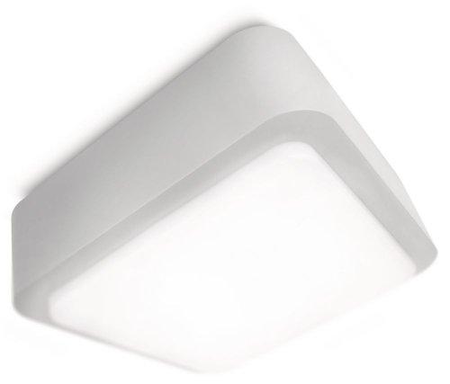 Philips Ecomoods Energiespar-Wand-/ Deckenaussenleuchte inklusiv Energiespar Leuchtmittel, UV beständiger Kunststoff, als Wand oder Deckenleuchte montierbar 169138716