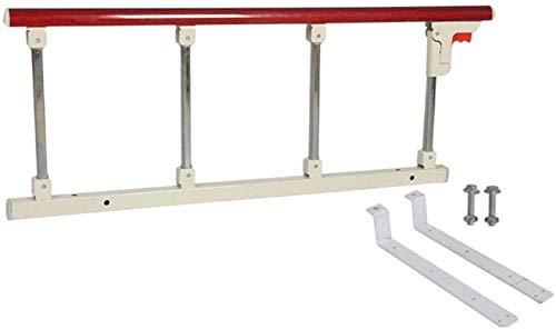 JT- Lit pliant réglable anti-clôture peut protéger la clôture. Clôture de lit en acier inoxydable durable 95 x 40 cm, Métal, C, 95x40cm