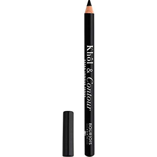 Bourjois - Crayon Yeux Khôl & Contour - Couleur intense - Fini Mat - 01 Noir-Issime 1,2gr