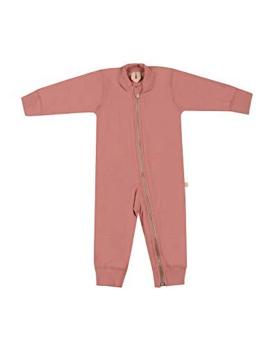 Dilling Baby Overall aus 100% Bio-Merinowolle Rosa 80