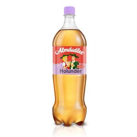 6 Flaschen x Almdudler 1,5 Liter (Holunder)