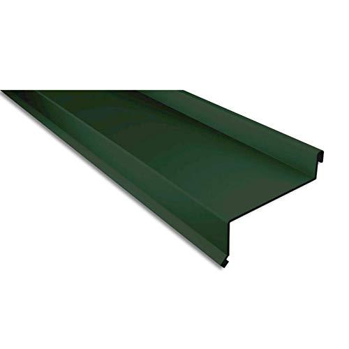 Sohlbank   Kantteil   Material Stahl   Stärke 0,50 mm   Beschichtung 60 µm   Farbe Moosgrün