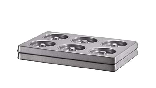 KitchenAid KBNSS06DG Backform, Stahl, 18,2 x 27,3 x 4 cm, silber (2er Pack)