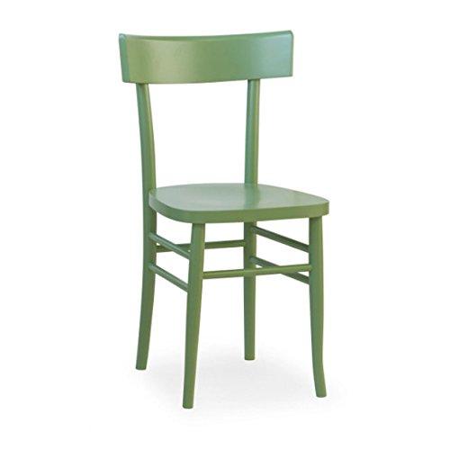 Mobili Ilar Lot 2 chaises Milano Viennese – Chêne Clair